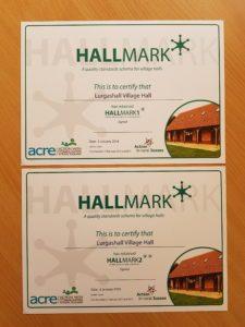 Hallmark Certificates